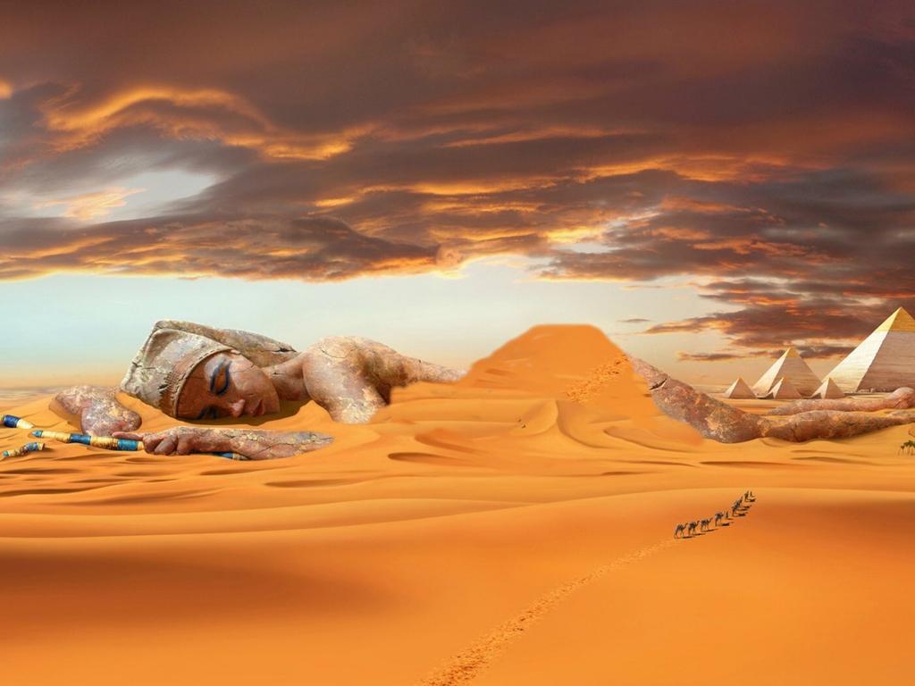 Egypt Fantasy Wallpaper__yvt2
