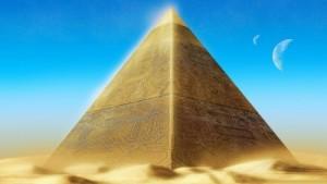 Gold-Pyramid